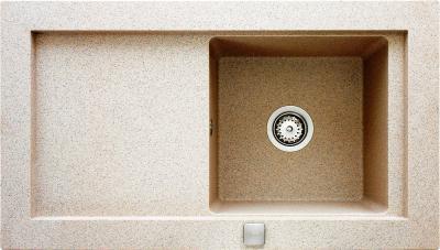 Мойка кухонная Teka Aura 45 B-TG (топаз) - реальный цвет модели может отличаться от цвета, представленного на фото