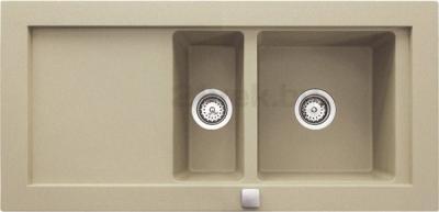 Мойка кухонная Teka Aura 60 B-TG (топаз) - реальный цвет модели может отличаться от цвета, представленного на фото