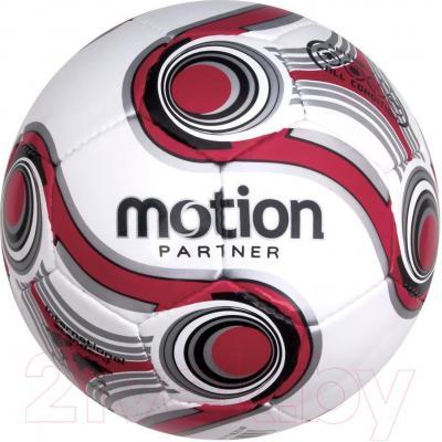 Футбольный мяч Motion Partner MP525 (красный) - общий вид (цвет товара уточняйте при заказе)