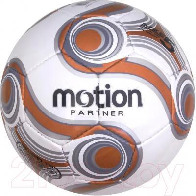 Футбольный мяч Motion Partner МР525 (красный) - общий вид (цвет товара уточняйте при заказе)