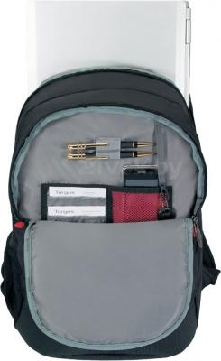 Рюкзак для ноутбука Targus Terra Backpack (TSB251EU) - в раскрытом виде