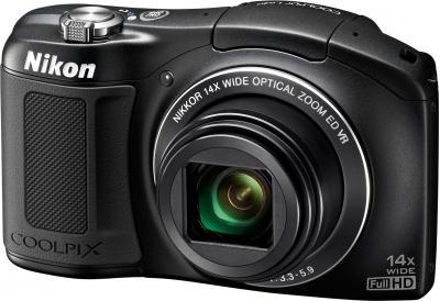 Компактный фотоаппарат Nikon Coolpix L620 (Black) - общий вид