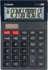 Калькулятор Canon AS-120 - общий вид