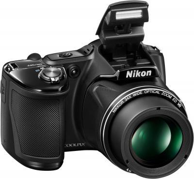 Компактный фотоаппарат Nikon Coolpix L830 (Black) - общий вид