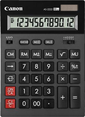 Калькулятор Canon AS-2222 - общий вид