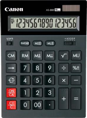 Калькулятор Canon AS-888 - общий вид