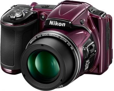 Компактный фотоаппарат Nikon Coolpix L830 (Plum) - общий вид