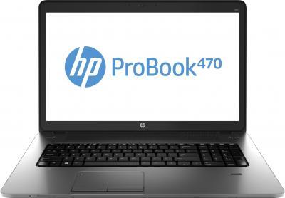 Ноутбук HP ProBook 470 G1 (F7Y86ES) - фронтальный вид