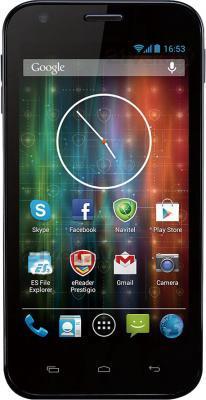 Смартфон Prestigio MultiPhone 5501 (Blue) - общий вид