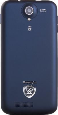 Смартфон Prestigio MultiPhone 5501 (Blue) - задняя панель
