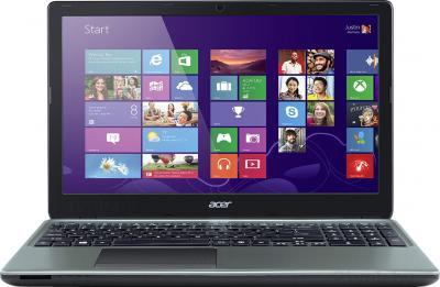 Ноутбук Acer Aspire E1-572G-74508G1TMnii (NX.MFHER.004) - фронтальный вид