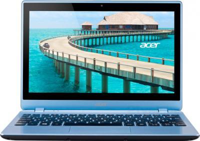 Ноутбук Acer Aspire V5-122P-61454G50nbb (NX.M92ER.001) - фронтальный вид