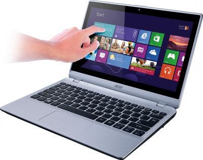 Ноутбук Acer Aspire V5-122P-42154G50nss (NX.M8WER.001) - сенсорный экран