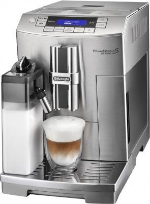 Кофемашина DeLonghi PrimaDonna S De Luxe ECAM 28.465.M - общий вид