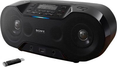 Магнитола Sony ZS-RS70BT - общий вид