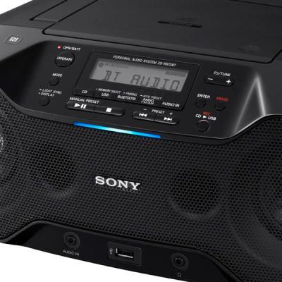 Магнитола Sony ZS-RS70BT - дисплей