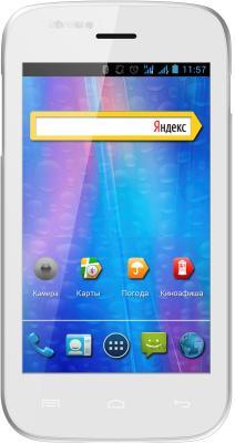 Смартфон Explay A400 (White) - общий вид