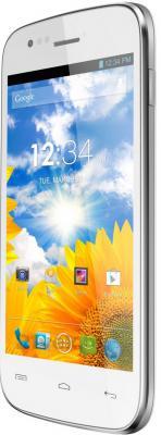Смартфон Explay A400 (White) - полубоком
