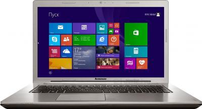Ноутбук Lenovo IdeaPad Z710 (59396875) - фронтальный вид