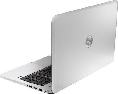 Ноутбук HP Envy 15-j014sr (F0F13EA) - вид сзади