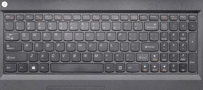 Ноутбук Lenovo B5400 (59404443) - клавиатура