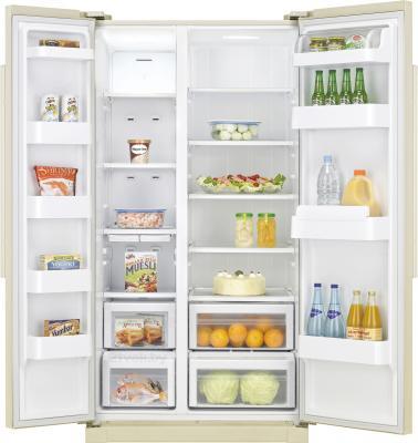 Холодильник с морозильником Samsung RSA1SHVB1/BWT - внутренний вид
