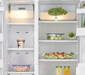 Холодильник с морозильником Samsung RSA1SHVB1/BWT