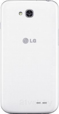 Смартфон LG L90 Dual / D410 (белый) - задняя панель