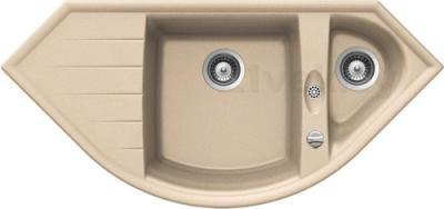 Мойка кухонная Teka Cabrera 70 E-TG / 88216 (песочный) - реальный цвет модели может отличаться от цвета, представленного на фото