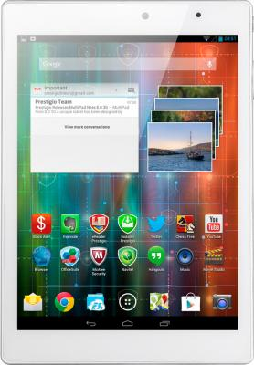 Планшет Prestigio MultiPad 4 Diamond 7.85 32GB 3G (PMP7079E3G_WH_QUAD) - фронтальный вид