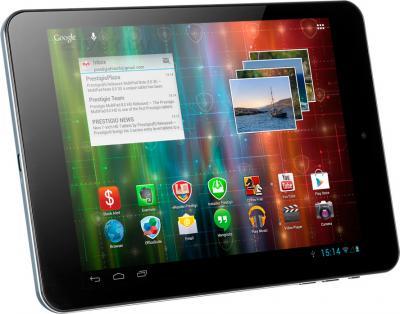 Планшет Prestigio MultiPad 4 Quantum 7.85 8GB 3G (PMP5785C3G_BL_QUAD) - общий вид