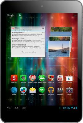 Планшет Prestigio MultiPad 4 Quantum 7.85 8GB 3G (PMP5785C3G_BL_QUAD) - фронтальный вид