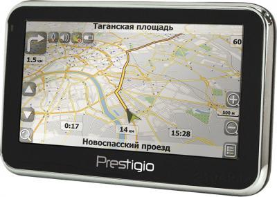 GPS навигатор Prestigio GeoVision 5300 (PGPS5300CIS04GBNV) - общий вид