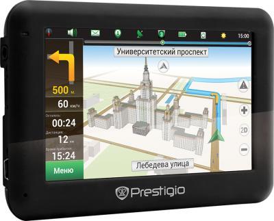 GPS навигатор Prestigio GeoVision 4050 (PGPS4050CIS04GBNV) - общий вид