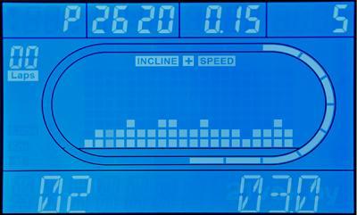 Электрическая беговая дорожка Tatverk Master KD946H - дисплей