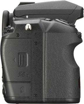 Зеркальный фотоаппарат Pentax K-3 Body (черный) - вид справа