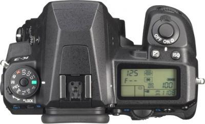 Зеркальный фотоаппарат Pentax K-3 Body (черный) - вид спереди