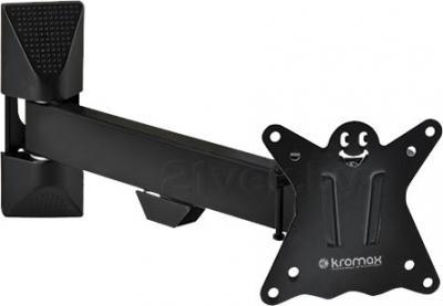 Кронштейн для телевизора Kromax Casper-103 (черный) - общий вид