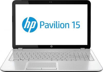 Ноутбук HP Pavilion 15-n069sr (F2V61EA) - фронтальный вид