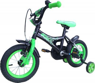 Детский велосипед Aist KB12-12 (зеленый) - общий вид