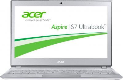 Ноутбук Acer Aspire S7-191-53334G12ass (NX.M42ER.003) - фронтальный вид
