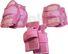 Комплект защиты Speed GF-800 (S, розовый) - общий вид