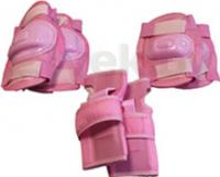 Комплект защиты Speed GF-800 (L, розовый) -