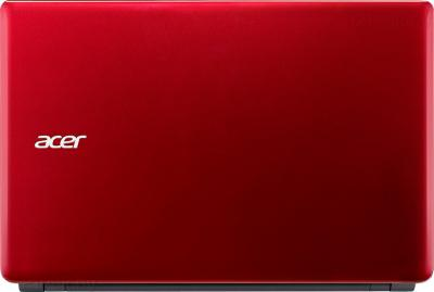 Ноутбук Acer Aspire E1-572G-34016G75Mnrr (NX.MJKER.003) - крышка