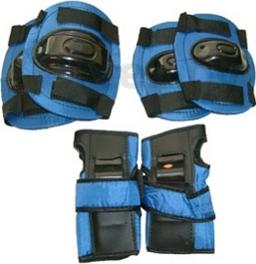 Комплект защиты Speed GF-800 (M, синий) - общий вид