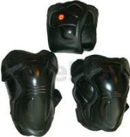 Комплект защиты Speed GF-8008 (L, Black) -
