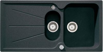 Мойка кухонная Teka Cara 60 B-TG (антрацит) - реальный цвет модели может отличаться от цвета, представленного на фото