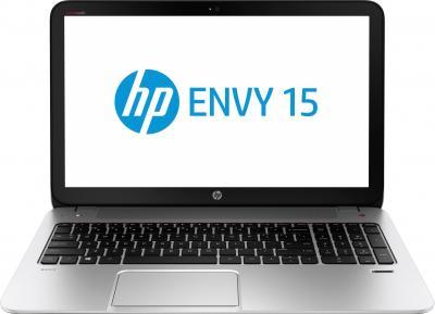 Ноутбук HP ENVY 15-j010sr (F0F09EA) - фронтальный вид