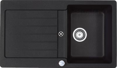 Мойка кухонная Teka Lugo 45 B-TG (антрацит) - общий вид