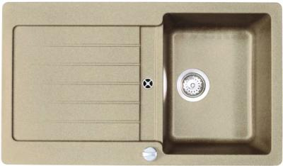 Мойка кухонная Teka Lugo 45 B-TG (топаз) - общий вид